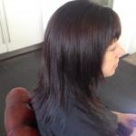 Brunette hair